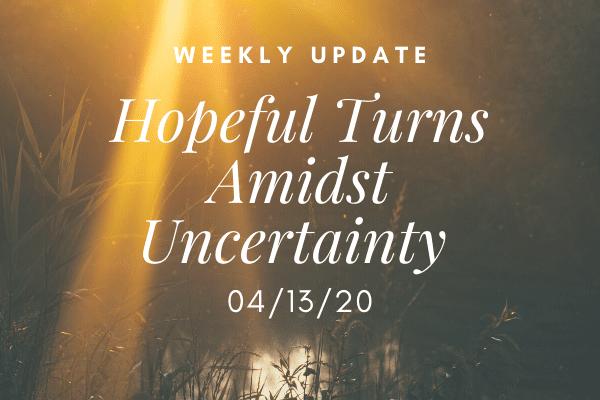 weekly update 4.13
